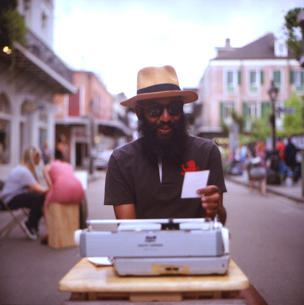 The Poet Film Photography in New Orleans
