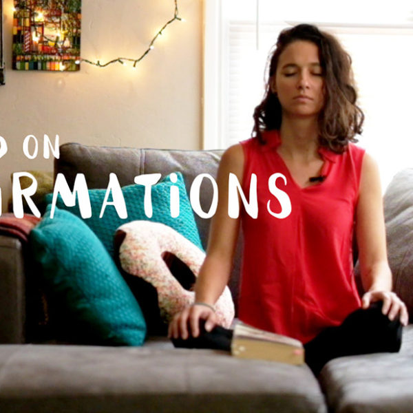 A word on affirmations
