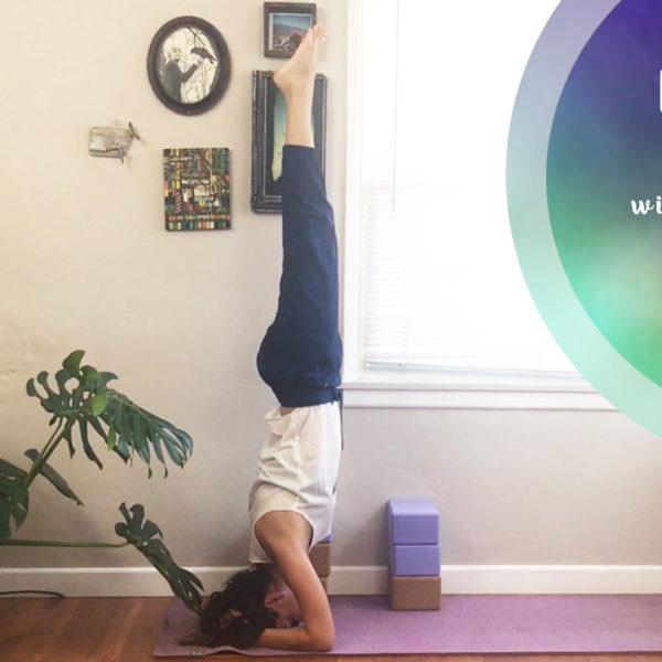 Inversion Flow for Beginners with Yoga Blocks