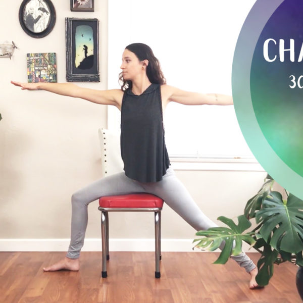 Chair Yoga || Yoga With Ilona
