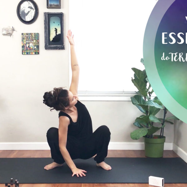 Yoga With Essential Oils || doTERRA Yoga Collection || Yoga With Ilona