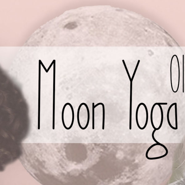 Moon Yoga Postcards by Moo