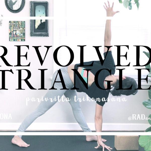 Revolved Triangle || Parivritta Trikonasana
