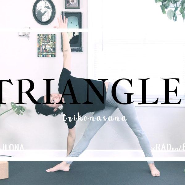 Triangle || Trikonasana