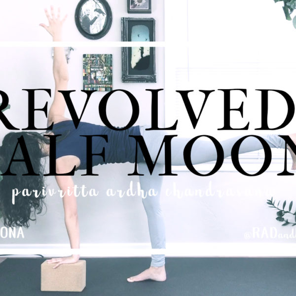 Revolved Half Moon || Parivritta Ardha Chandrasana