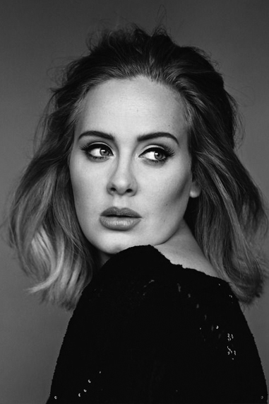 Adele black and white famous human design Manifestor