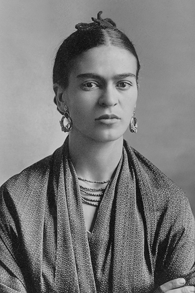 Frida Kahlo black and white famous human design Manifestor