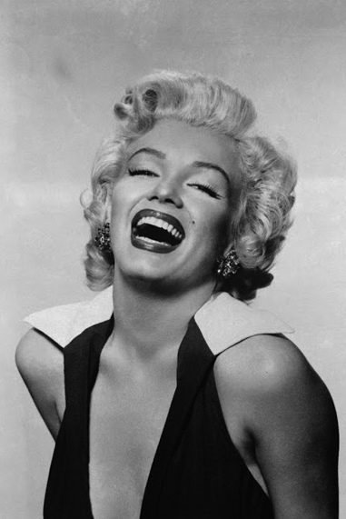 Marilyn Monroe black and white famous human design Projector