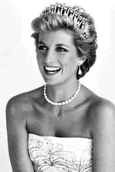Princess Diana black and white famous human design Projector