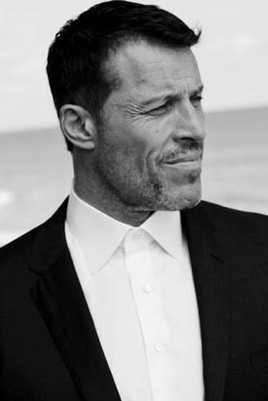 Tony Robbins black and white famous human design Manifesting Generator
